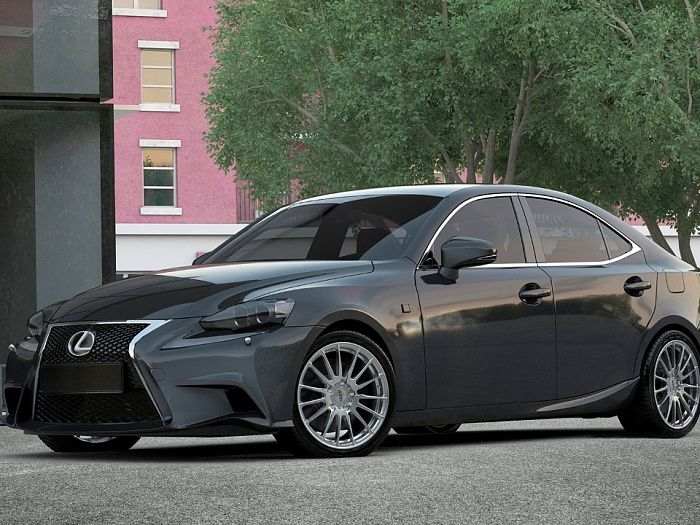 Slik L-838 на LEXUS IS
